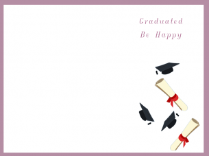 photograph relating to Printable Grad Cards called Deliver a which include for this totally free printable #commencement card