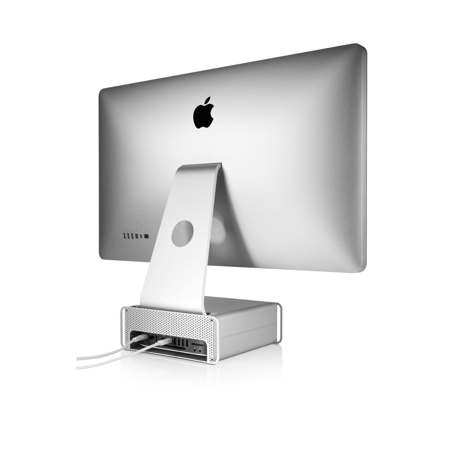 Twelve South Hirise For Imac Adjustable Stand For Imac And Apple Displays Macbook Accessories Apple Apple Accessories