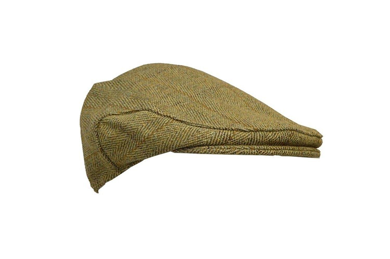 e299b3326f8ca Men s Ladies Derby Tweed Flat Cap Hunting Shooting Countrywear Hat ...