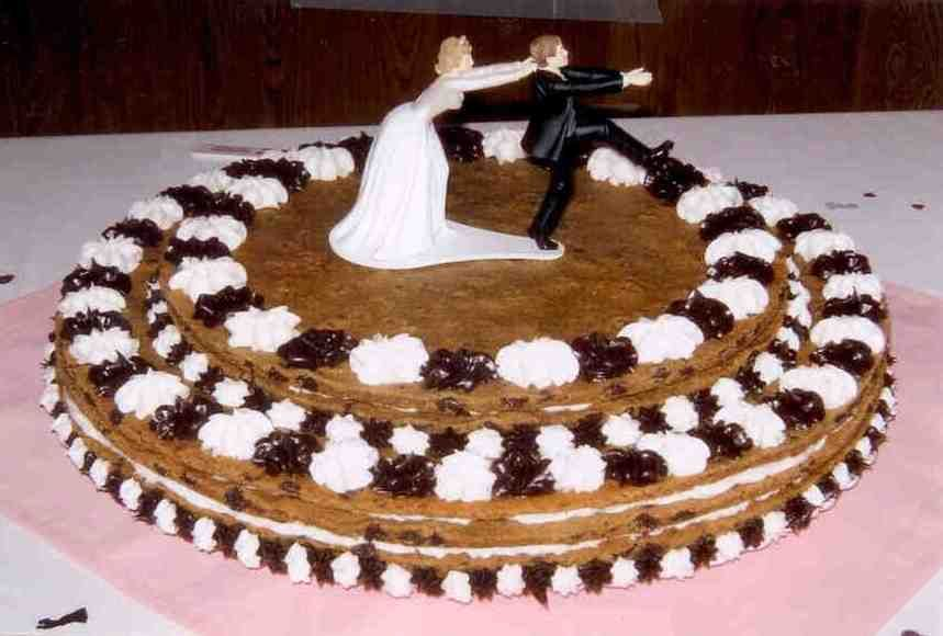 We can even make cookie cake wedding cakes! | Cookie Cakes ...