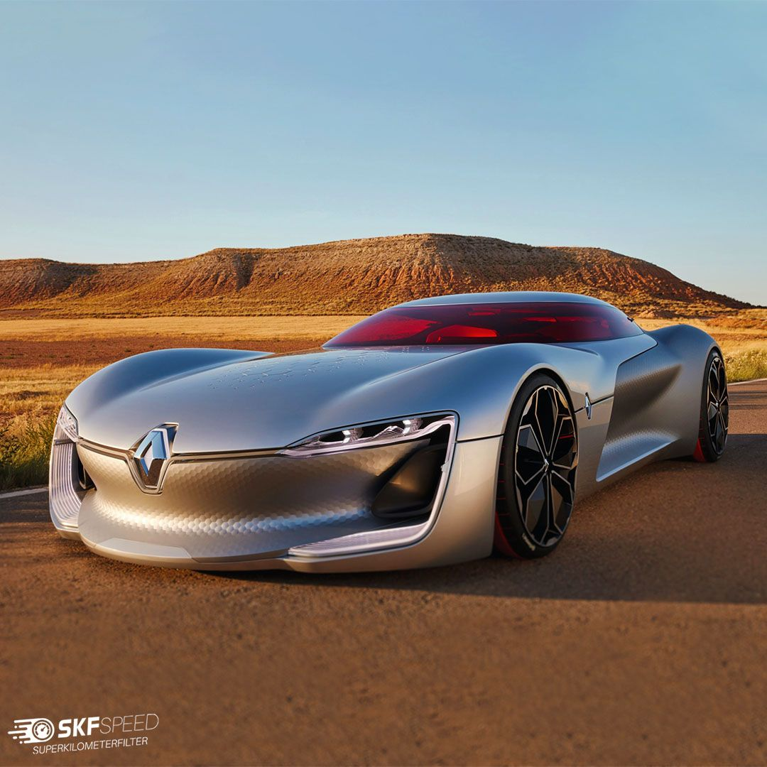 Is not Renault Trezor a futuristic car ❓ It was released in 2016 in Paris, sporting a version of Renault's Formula E drivetrain and autonomous driving tech 🔥 It's too bad a production version never came to fruition 🤔 __________________________ #speedocalibration #automotive #car #carsofinstagram #carporn #carinsurance #cargram #instacars #mileage #supercar