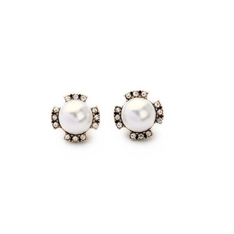 JOOLIM Jewelry Wholesale/ Brief Pearl Stud Earring Fashion Jewelry Free Shipping - US $1.52  sc 1 st  Pinterest & JOOLIM Jewelry Wholesale/ Brief Pearl Stud Earring Fashion Jewelry ...