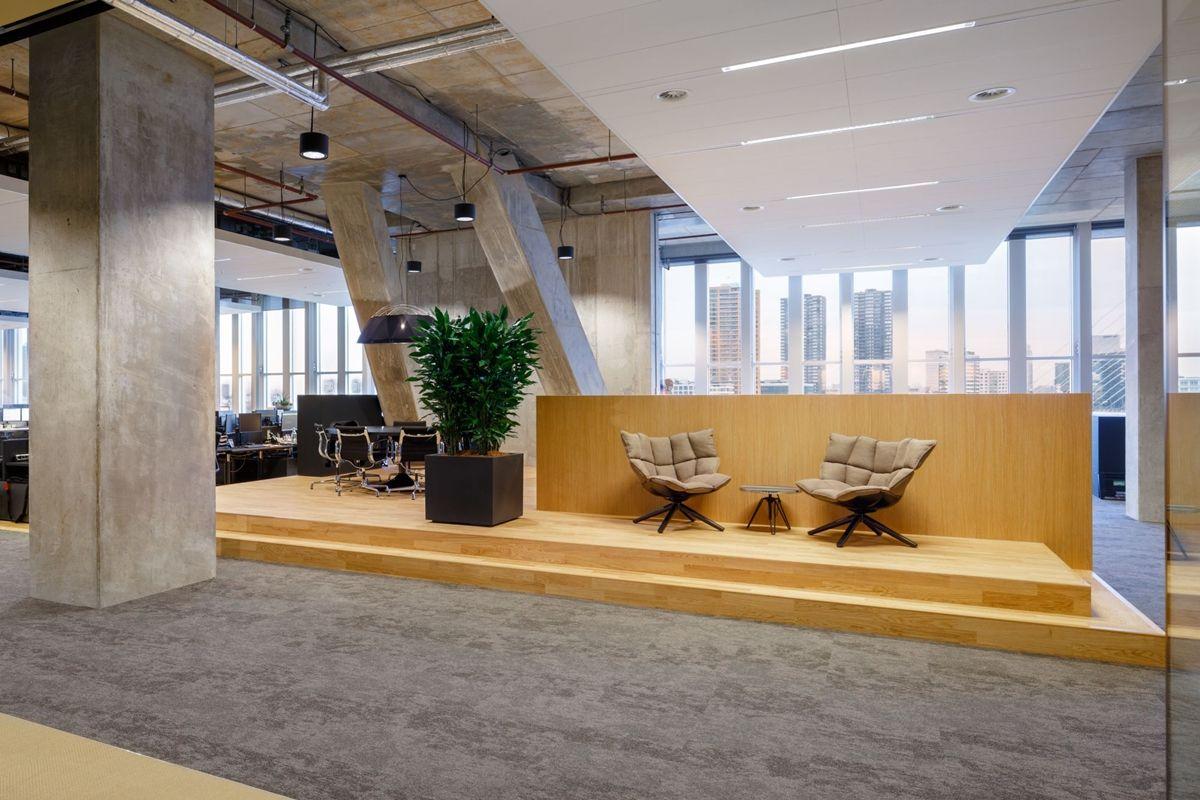 Fokkema partners architecten heeft een open interieur for Dat architecten