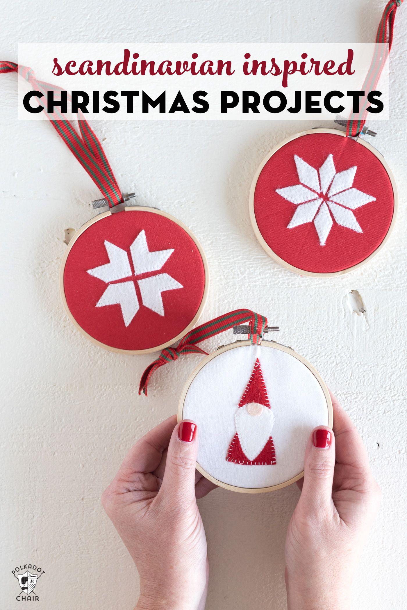 9 Scandinavian Inspired Diy Christmas Decorations Christmas Diy Handmade Christmas Ornaments Diy Christmas Ornaments