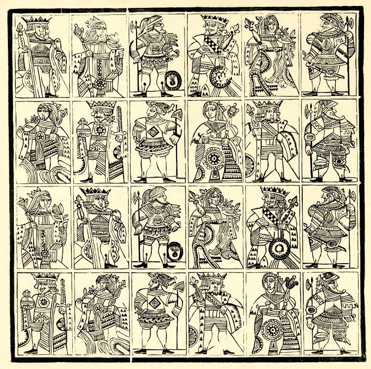 Image gallery print / playingcard in 2020 Woodcut, Old
