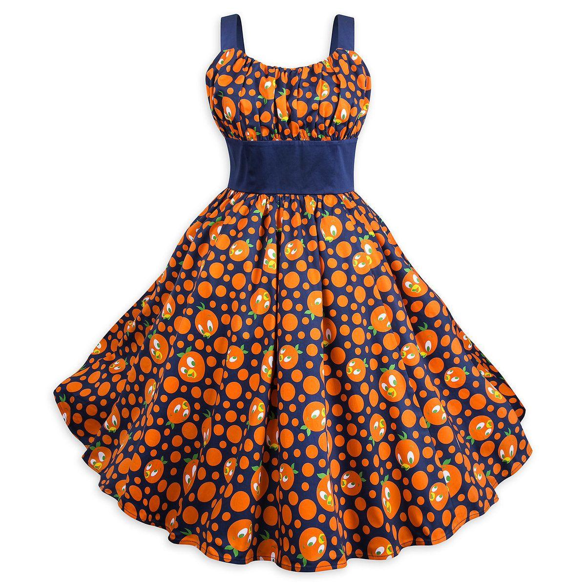 Orange Bird Dress For Women Shopdisney Bird Dress Womens Dresses Disney Dresses [ 1200 x 1200 Pixel ]