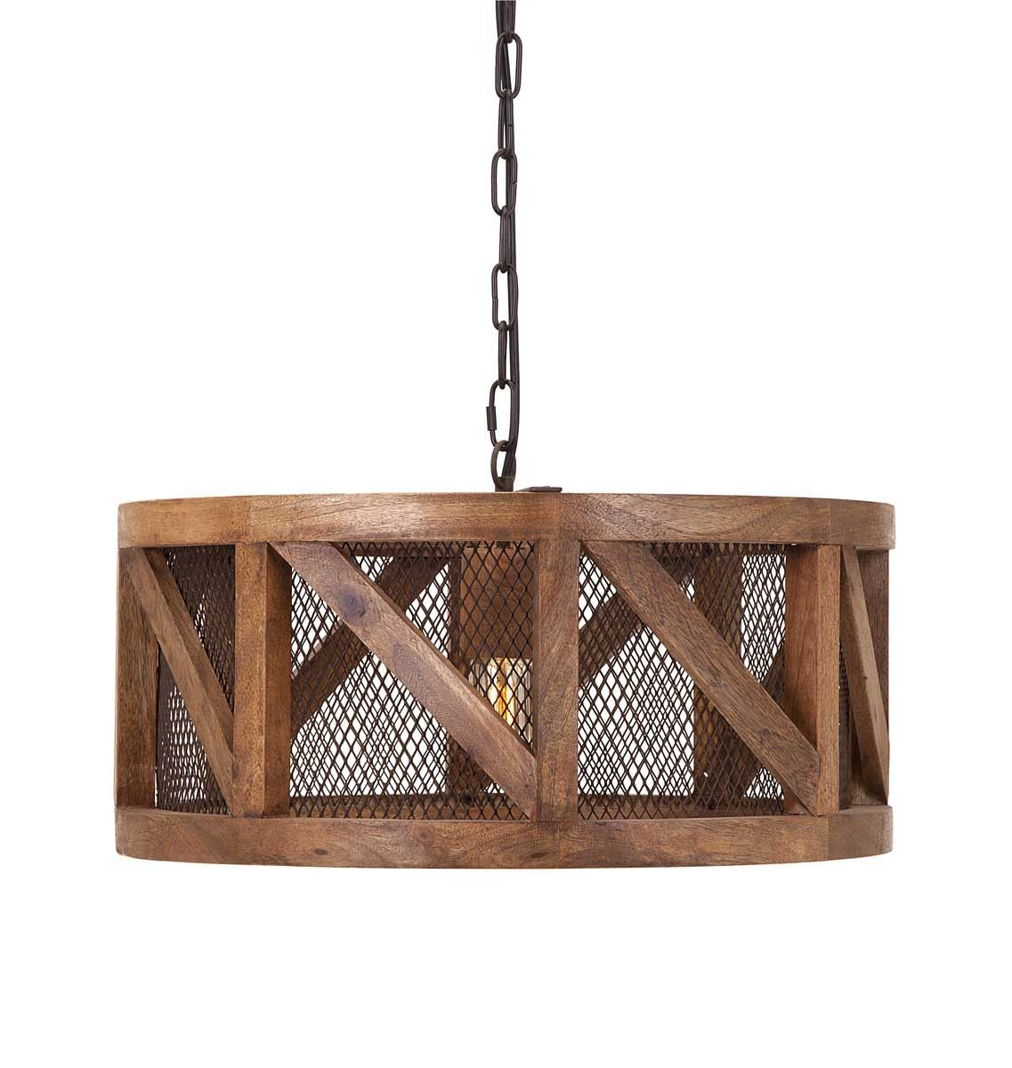 Old Fashioned Wire Mesh Pendant Light Composition - Wiring Diagram ...