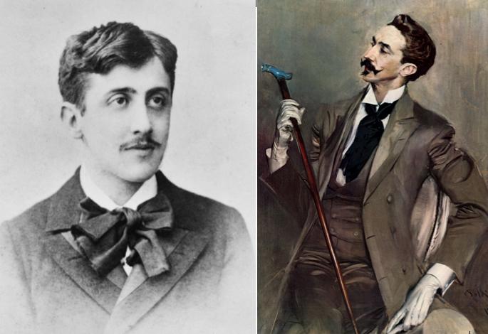 Lettre de Marcel Proust à Robert de Montesquiou : « Elle n'eut pas un regard pour la rêveuse et délicate chose. » - Des Lettres