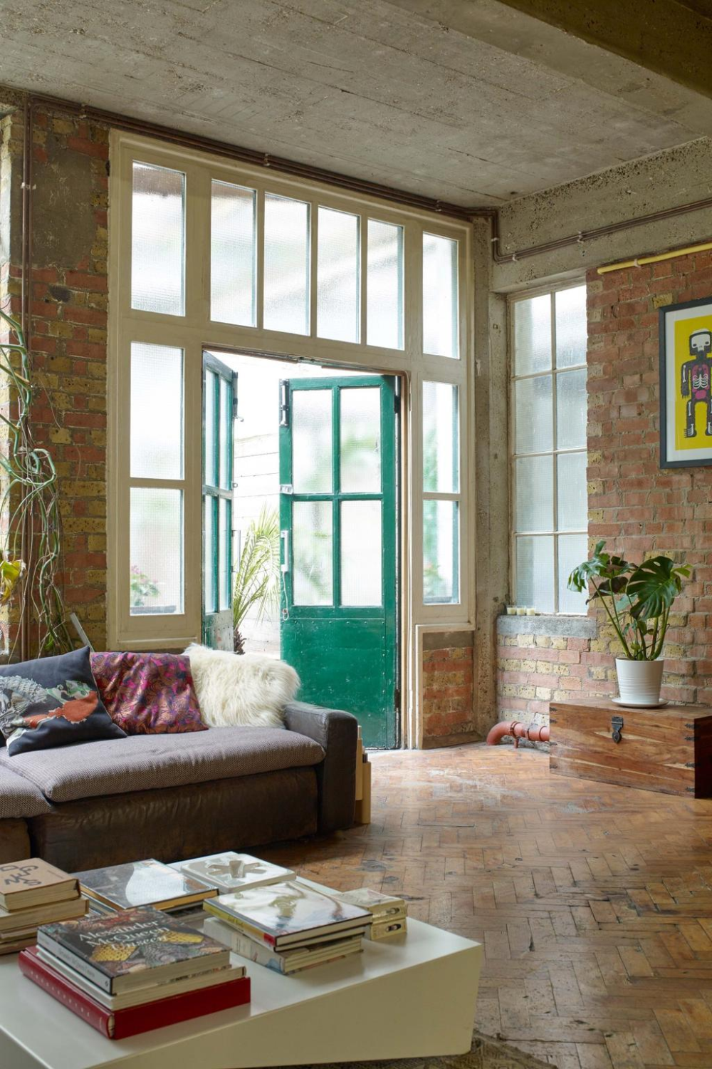 House tour: a renovated 1930s factory in east London now ...