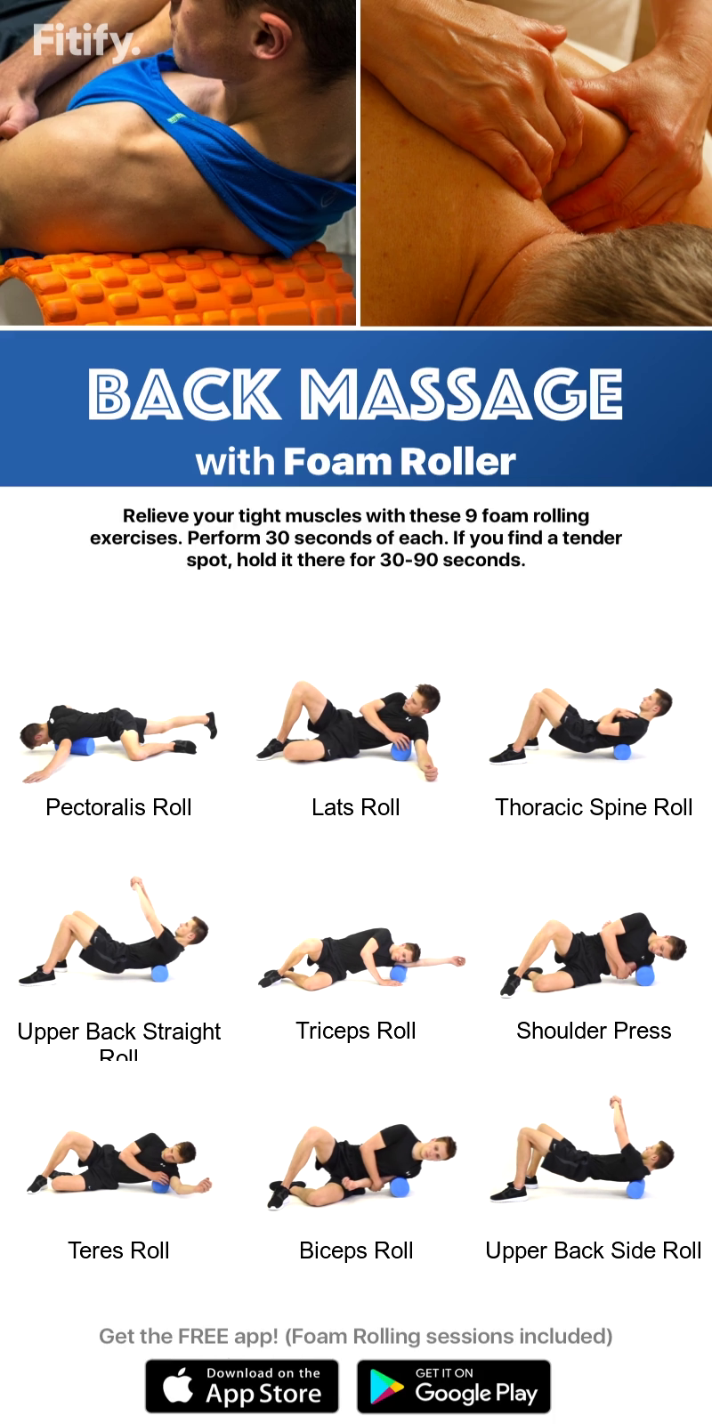 Yoga Roller Moves