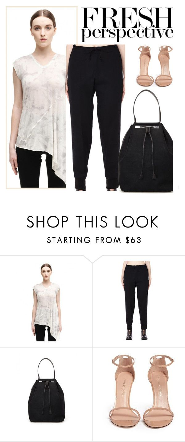 """""""SVMOSCOW 3"""" by merima-kopic ❤ liked on Polyvore featuring DAMIR DOMA, Yohji Yamamoto, The Row, Stuart Weitzman, Fall, trend, shop and svmoscow"""