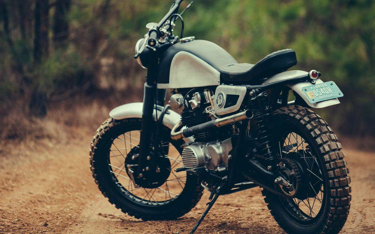honda cl450 'desert sled' - dime city cycles - inazuma cafe racer