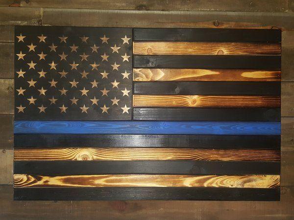 bd098e5a69a4 Thin Line Burnt American Flag Concealment Case (Standard Size) Father s day  gift idea Secret compartment