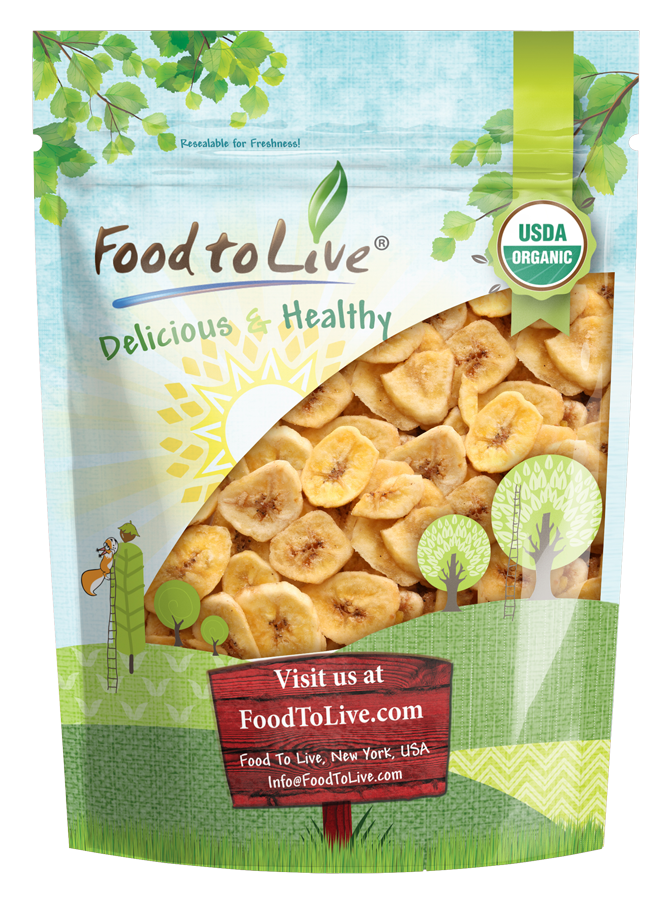 Organic Banana Chips Buy in Bulk from Food Nutritious snacks Gourmet recipes