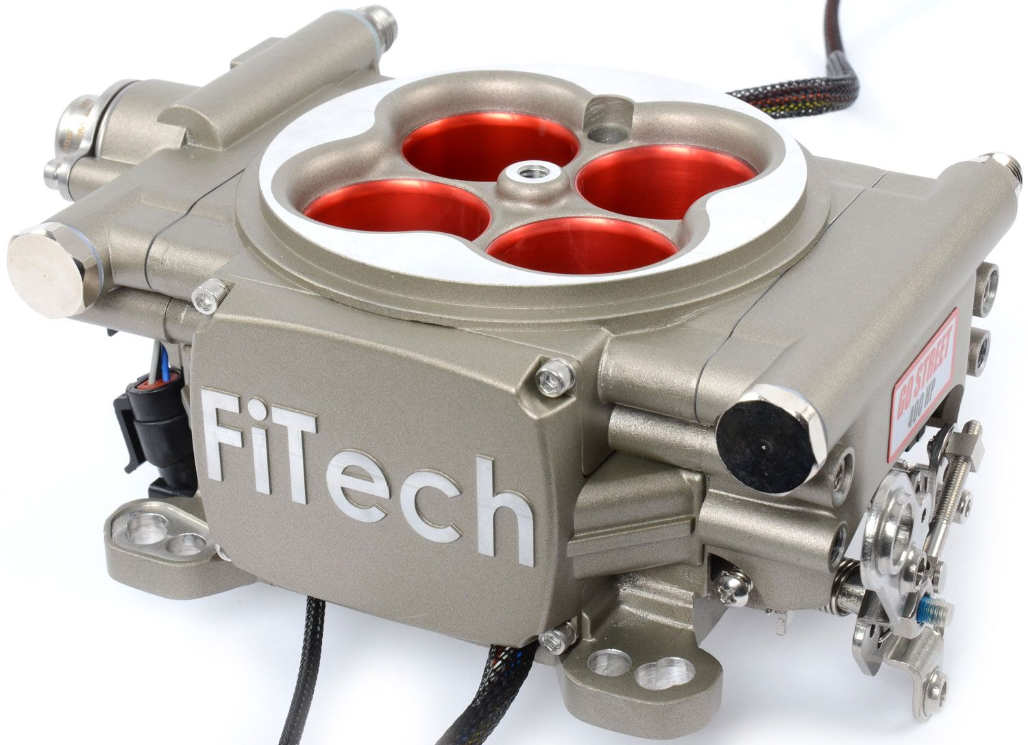 Looking for pics of FiTech fuel injection installed on