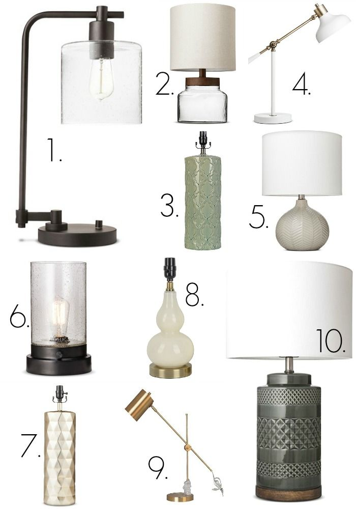 My Favorite Target Lighting Target Table Lamps Farmhouse Table Lamps Target Lamps
