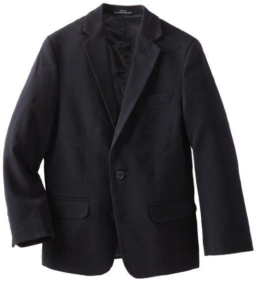 New Boys Blazer Suit Jacket Childrens Youth BLACK Size 20 HIGH Quality