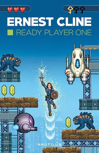 Cartea Ready Player 1 Este Fascinanta Si Antrenanta Plus Ca Ofera Bonusul De A Fi Tu Insuti Conectat Prin Ready Player One Player One Ready Player One Movie