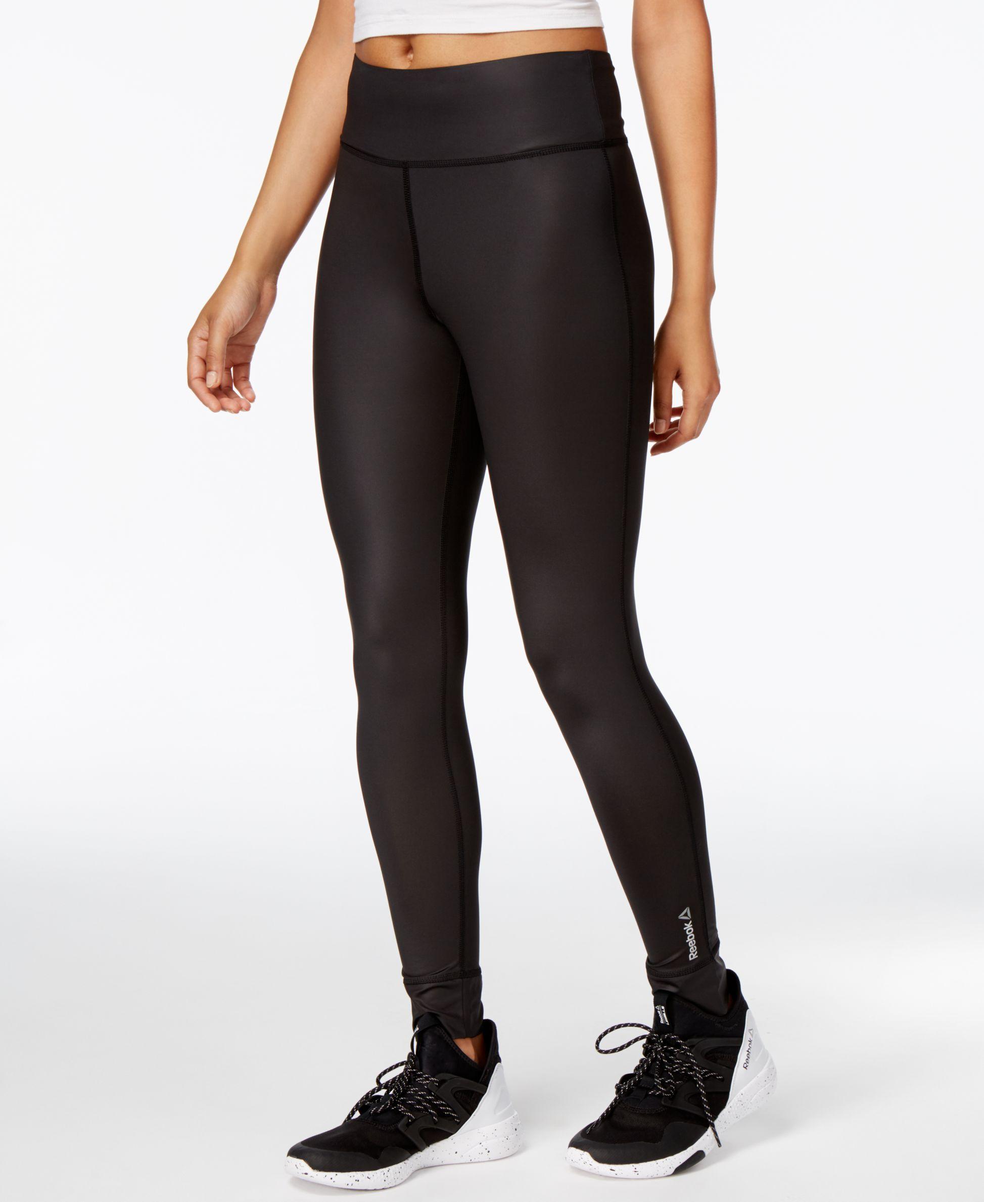 Reebok Speedwick Lux Yoga Leggings Reviews Pants Leggings Women Macy S Yoga Leggings Leggings Are Not Pants Leggings