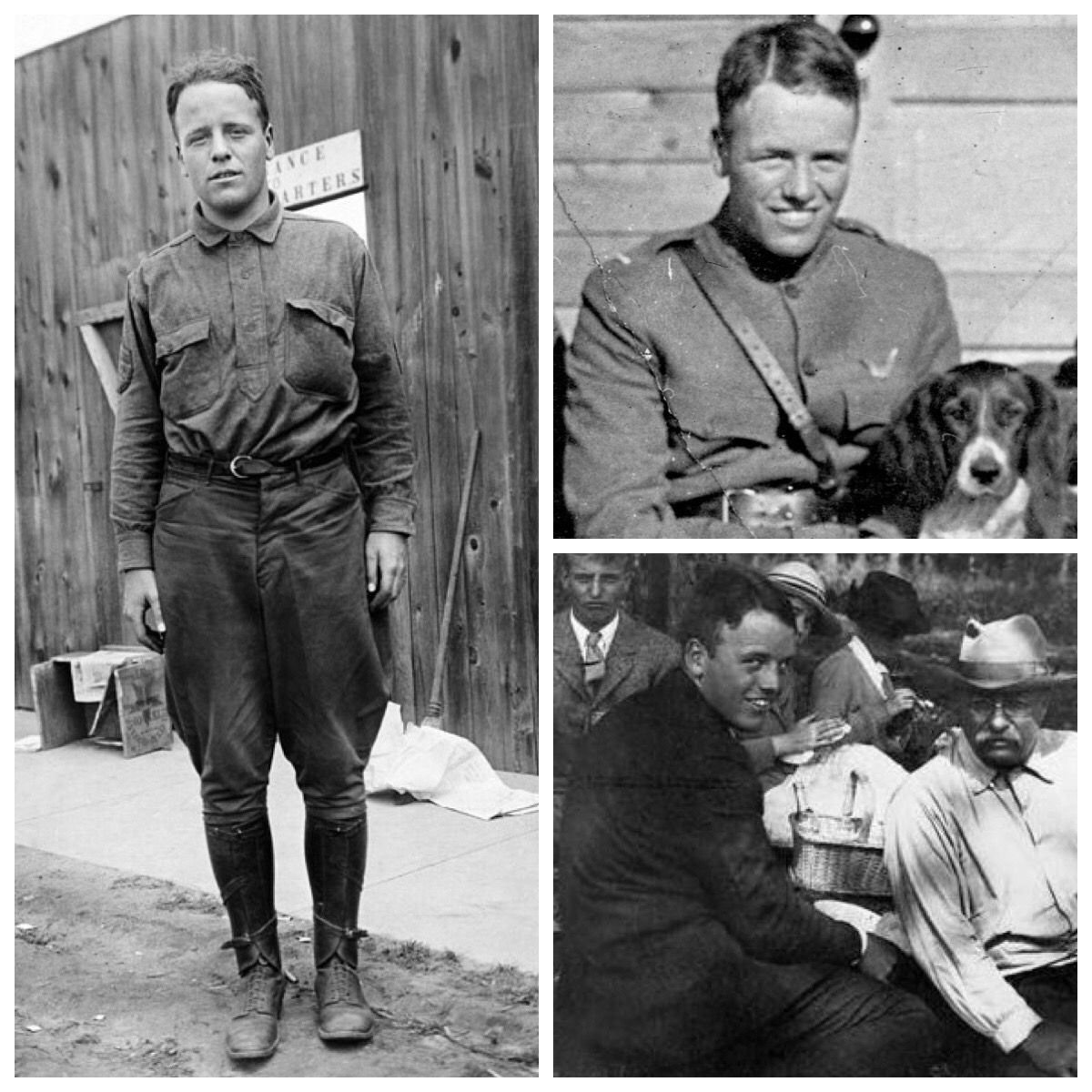 Lt. Quentin Roosevelt, youngest son of Theodore Roosevelt, joined the U. S. Army Air Service in WW1 And was ki… | Famous veterans, Roosevelt family, Edith roosevelt