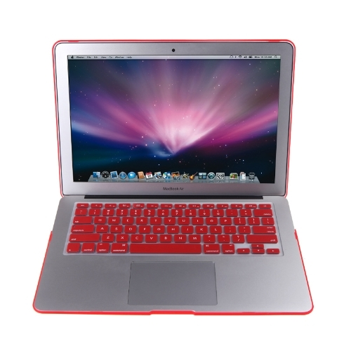 (7.52$)  Buy here - http://aiowi.worlditems.win/all/product.php?id=C1851R - Matte Hard Shell Case Keyboard Protector Cover for MacBook Air 11 Red