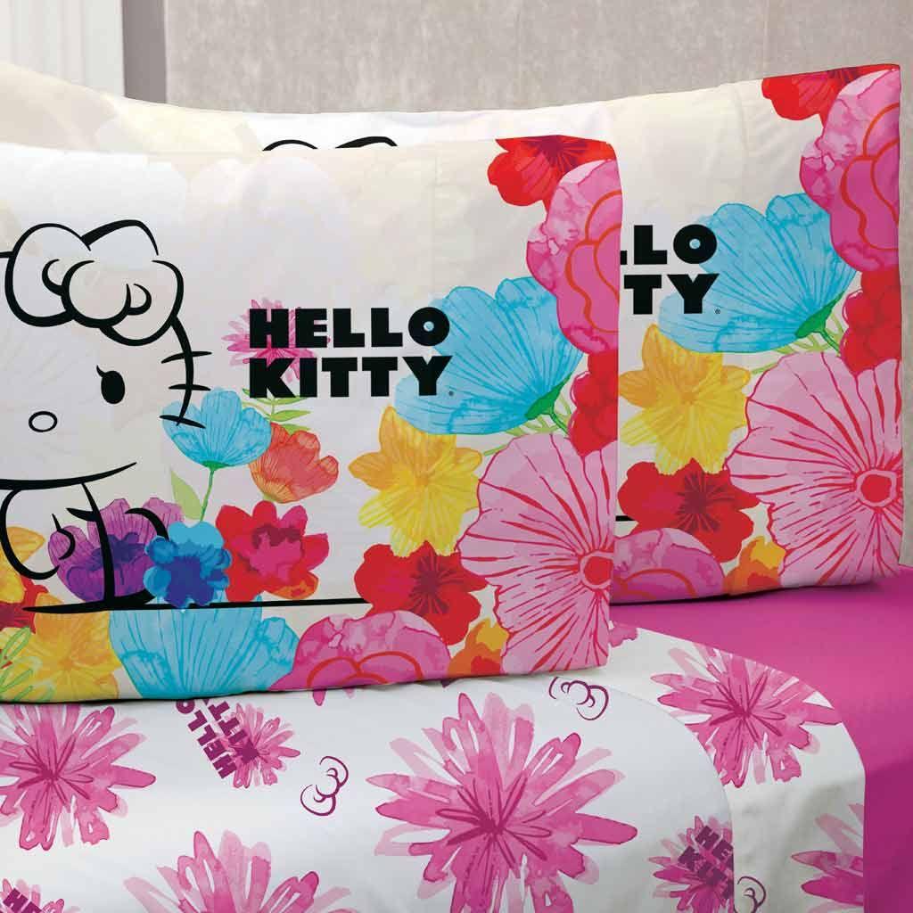 Juego de sábanas kitty dulce | Juegos de sábanas, Juego de y Sanrio