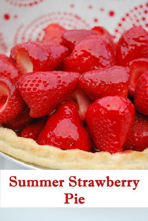 """Since I'm in Mexico and not cooking, today I have Melanie from Artzy Creations here to share her Summer Strawberry Pie. I """"met"""" Melanie via Pinterest and her """"2 Mins For A Fuller Ponytail"""" idea. She's so clever. Also, how cool is this """"Transform Your Phone Case"""" tutorial? I thought it was some type of...Read More » #fullerponytail Since I'm in Mexico and not cooking, today I have Melanie from Artzy Creations here to share her Summer Strawberry Pie. I """"met"""" Melanie via Pint #fullerponytail"""