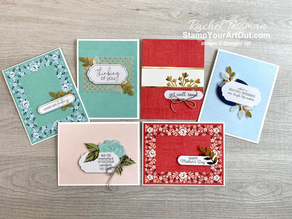 Kerchief Card Kit Variations #cardkit