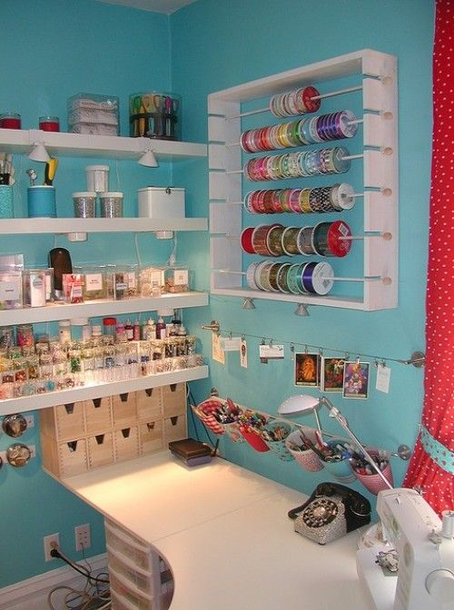 Guest Post Creating Great Workes By Joanna At Design Shuffle. Craft Room  Reveal Decor Ideas And Supplies Organization