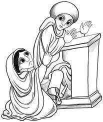 Parable Of The Persistent Widow Coloring Pages Google Search