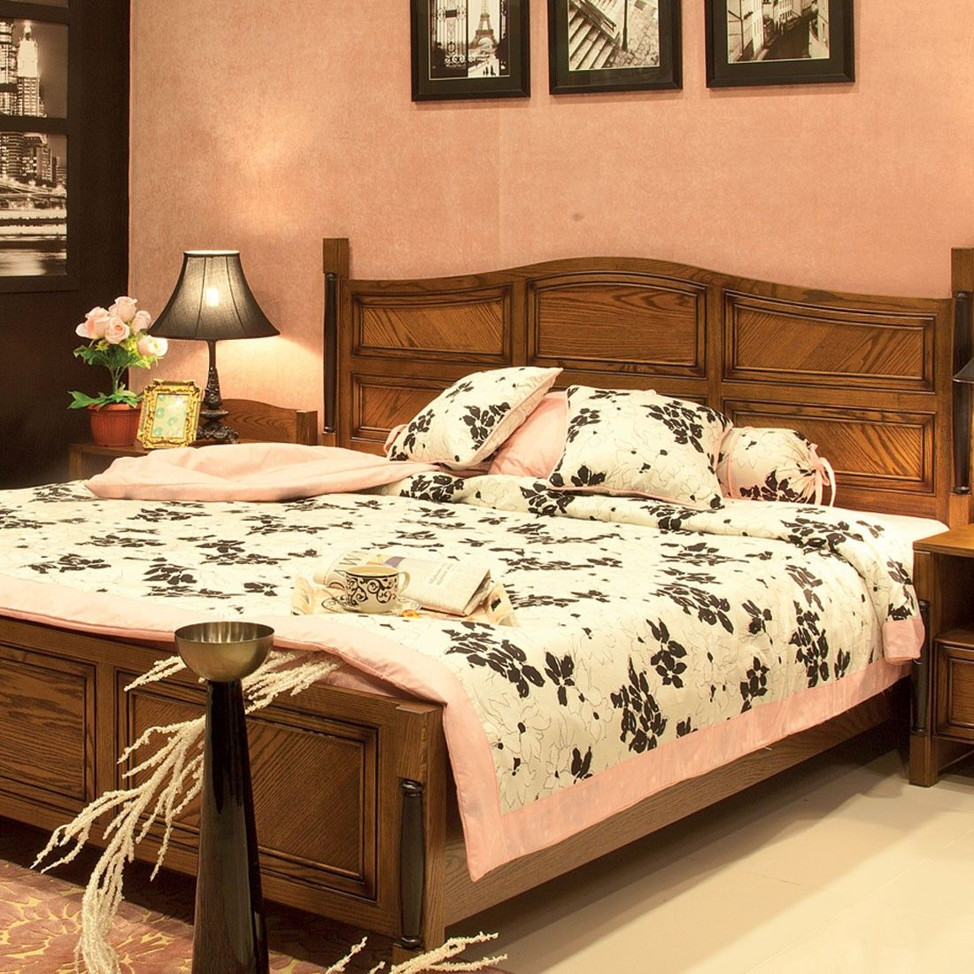Our sturdy double queen and king size beds with the