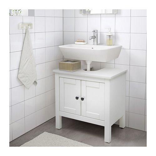 Waschbeckenunterschrank Ikea hemnes waschbeckenunterschrank 2 türen weiß