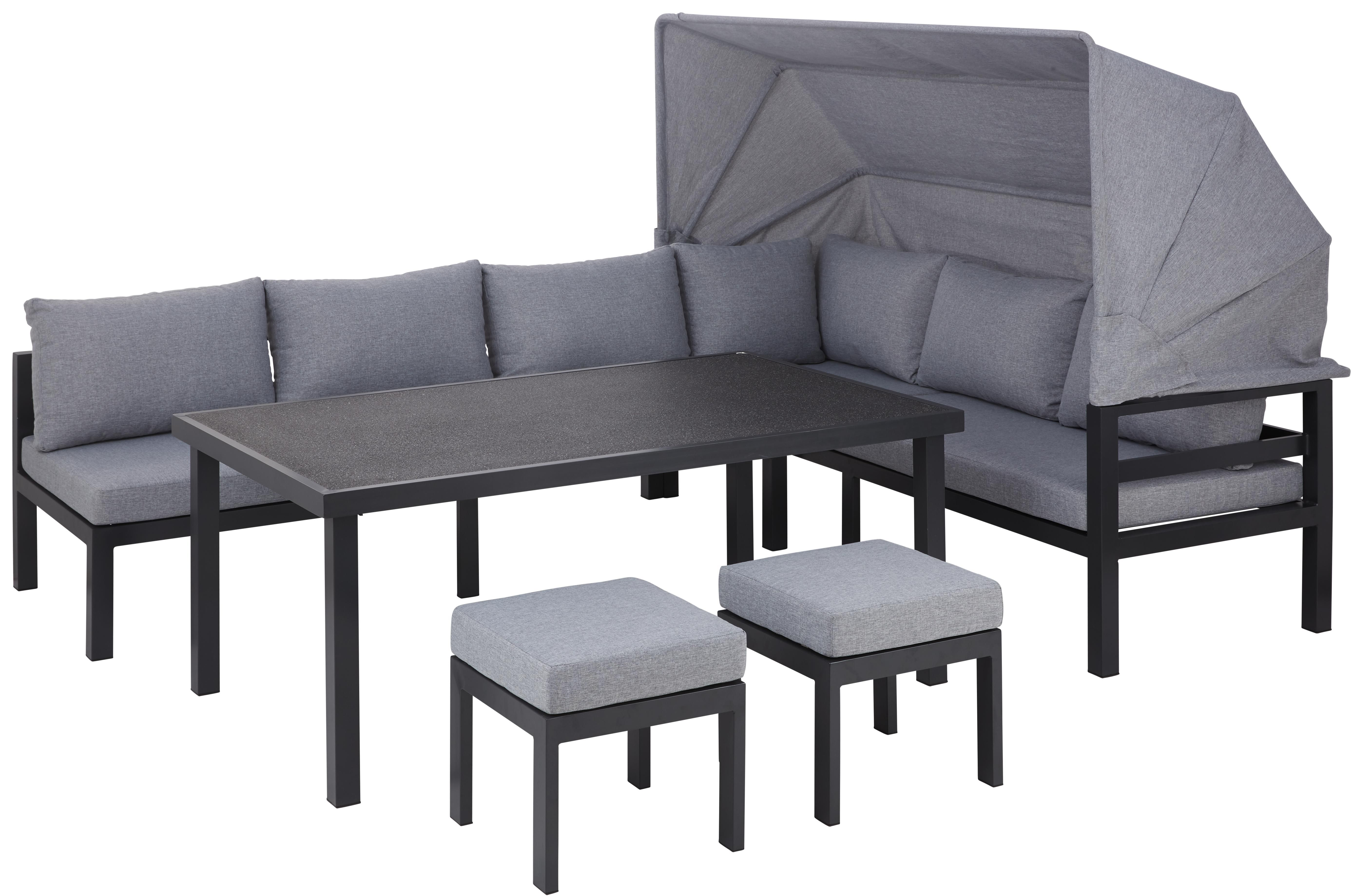 Loungegarnitur 16 Teilig Gartenmobel Garten Draussen Lounge Set Gartenlounge In 2020 Lounge Garnitur Lounge Mobel Lounge