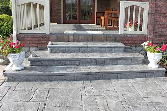Captivating Biondo Cement   Walkways Gallery / 24 Grey Slate Decorative Concrete