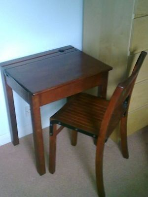 Old School Desk And Chair Chair School Desks Old School Desks