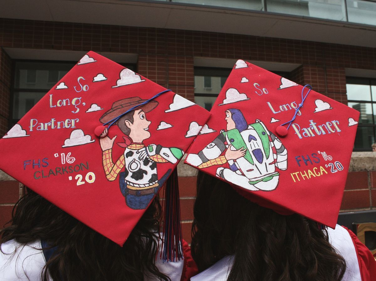 15 Graduation Cap Decorating Ideas For Every Disne