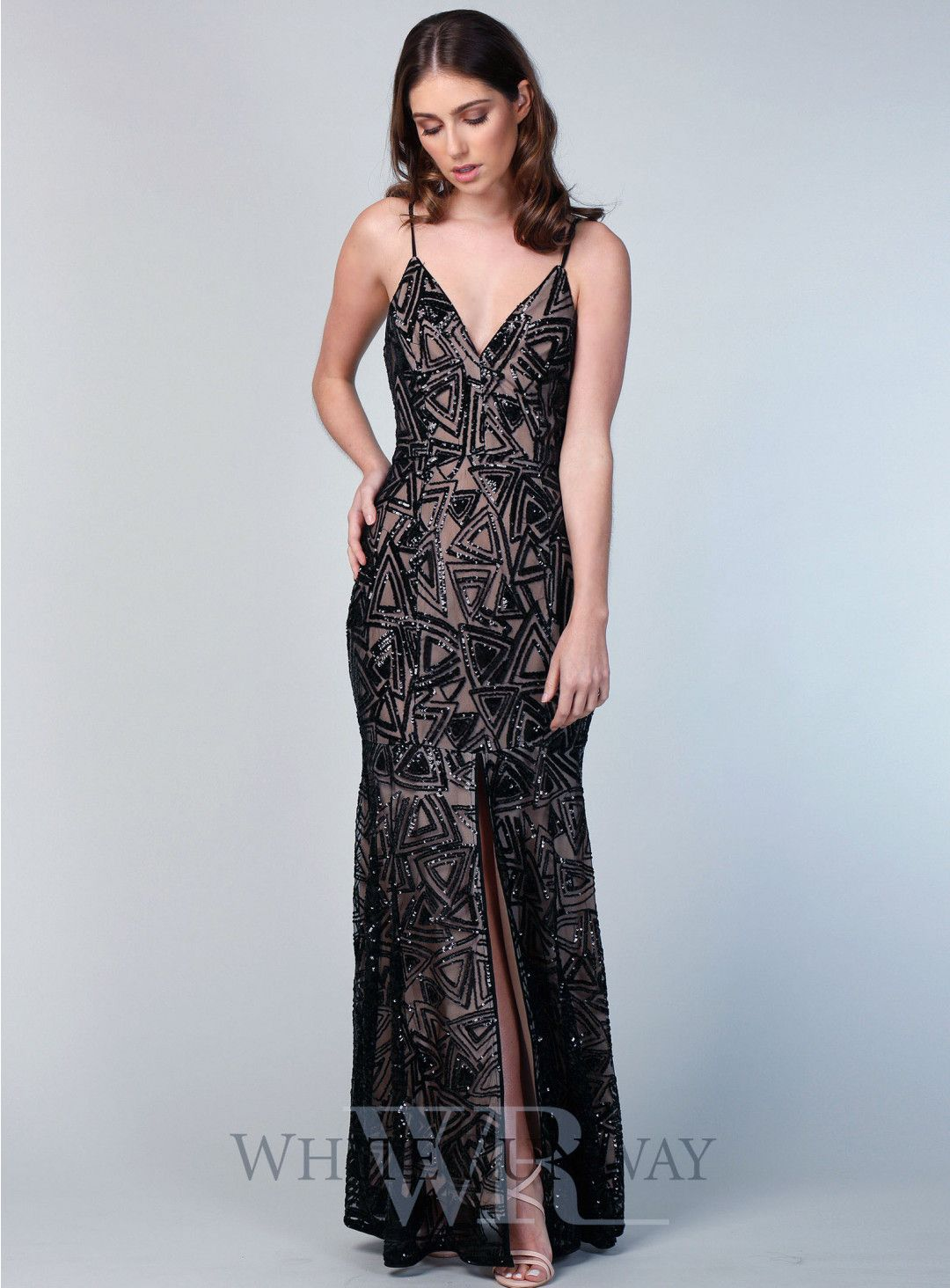 Alyssa sequin maxi a beautiful maxi dress by romance the label a v