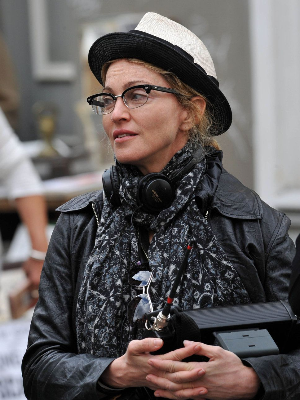 would you believe madonna w/ cat eye glasses?