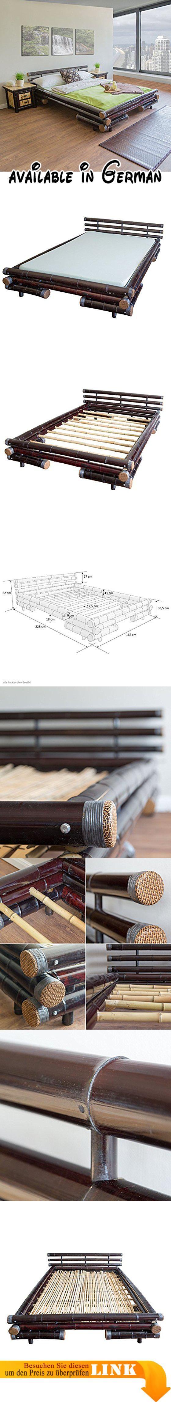 B00KFBLZ62 : Homestyle4u Bambusbett Futonbett Bambus Bett 160 x 200 ...