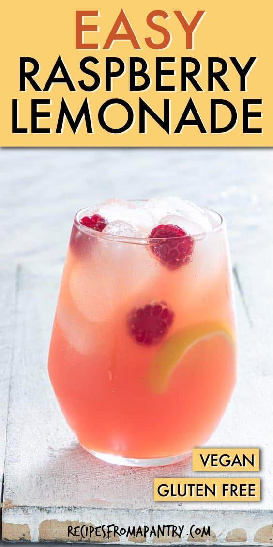 Raspberry Lemonade Recipe | Recipes From A Pantry