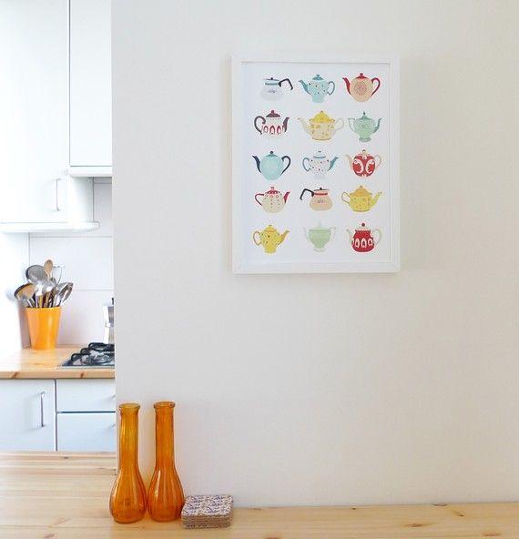 Tea pots Art, prints Pinterest Teapot, Prints and Art prints