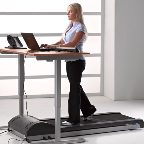 Great L Fitness: Canu0027t Stand All The Sitting At Work? Try A Treadmill