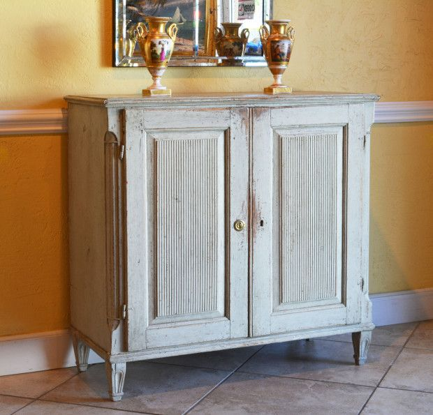 DAFA stands out among Fort Lauderdale s antiques stores as the place to go  for fine furniture. An Late 18th Century Gustavian Grey Painted Pine Cabinet