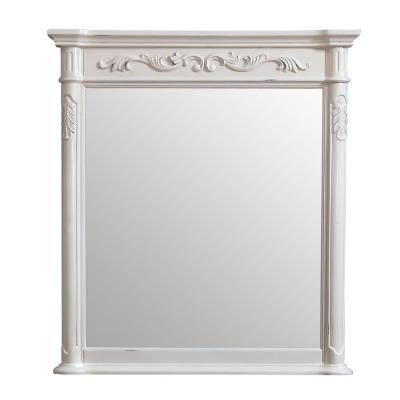 Avanity Provence 36 In X 40 In Framed Wall Mirror In Antique