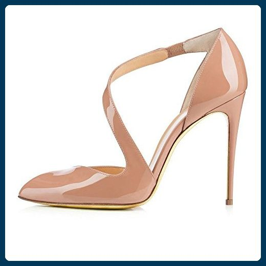 new style bfd85 34dc8 uBeauty,Damen Stiletto High Heels Pumps,Übergröße Spitze ...