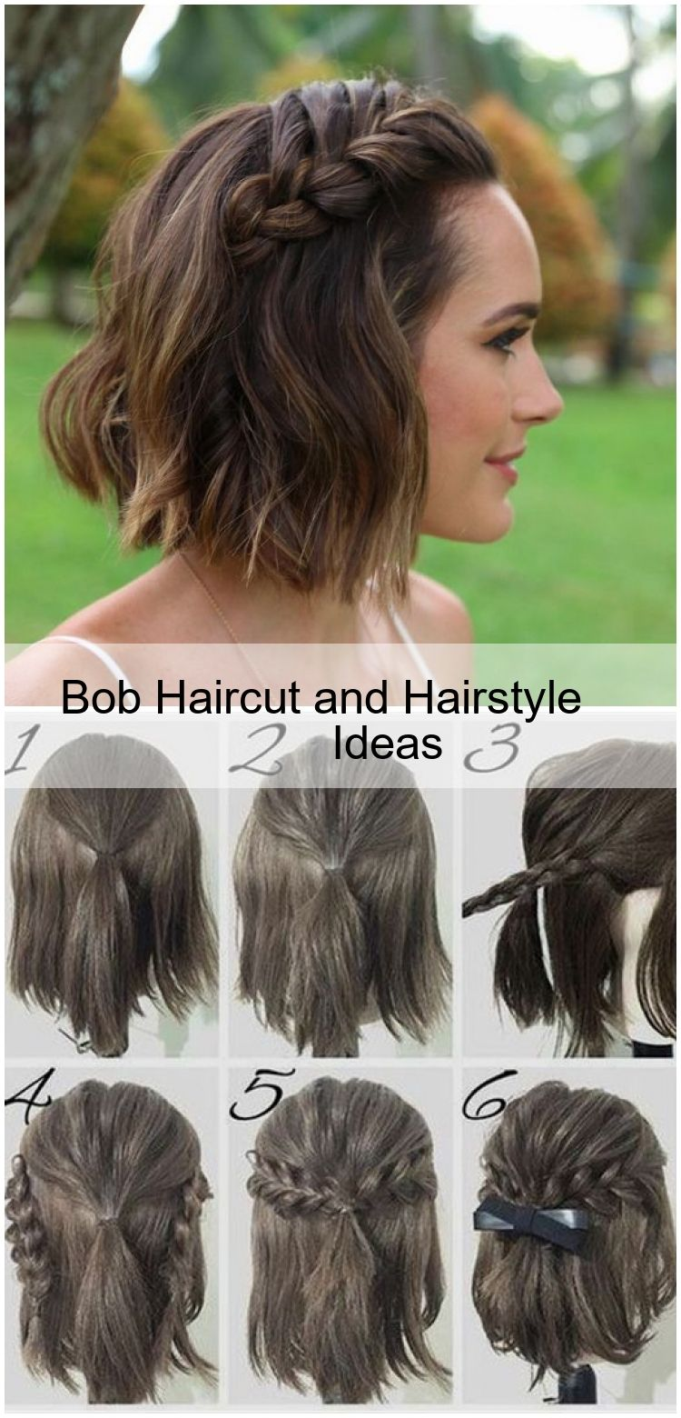Bob Haircut And Hairstyle Ideas In 2020 Hair Styles Bob Wedding Hairstyles Short Bob Hairstyles