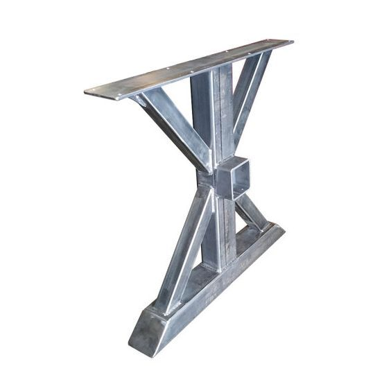 The Cleveland Crossbeam Table Leg Projects To Try Pinterest - Metal picnic table brackets