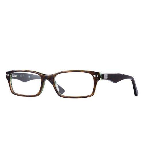 7b9d8b2b26df Ray-Ban Eyeglasses RB5206 5206 2445 Havana/Green RayBan Optical Frame 54mm