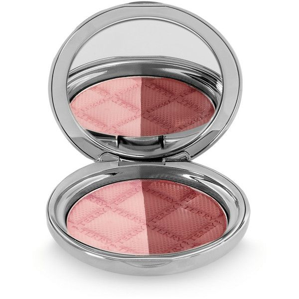 By Terry Terrybly Densiliss Blush Contouring - Peachy Sculpt 300 (£63) ❤ liked on Polyvore featuring beauty products, makeup, cheek makeup, blush, pink, shimmer blush, by terry blush, matte peach blush, by terry and matte blush
