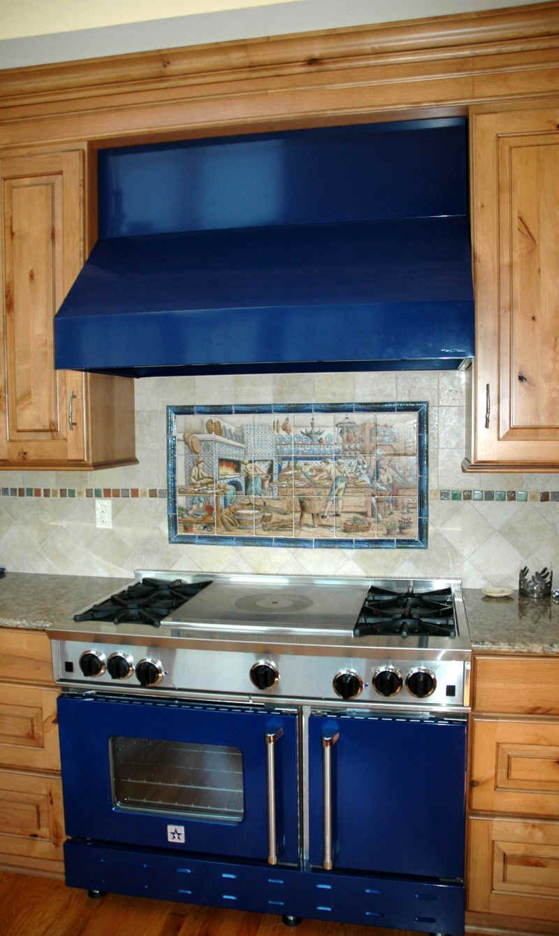 Blue Star Range..with the side opening oven door ! | BEACH CHIC ...